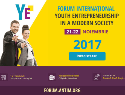 Youth Entrepreneurship in a Modern Society 2017